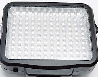 powierzchnia lampy diodowej led